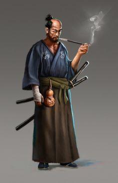 Samurai by mobocanario on DeviantArt