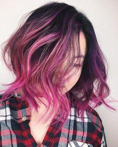 CANDY  did this #beautiful #balayage & #colourdesign today  #chrisweberhair #vancouverbalayage #vancouvercolourist #vancouverhairstylist #vancouverhairlove #modernsalon #behindthechair #hairtrend #hairfashion #hairlove #hairinspo #purplehair #pinkhair #love #xoxo