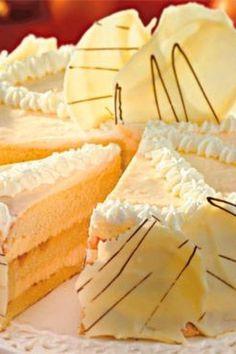 Weiße Schokoladen-Torte