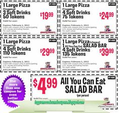 Chuck E Cheese Coupons Ends of Coupon Promo Codes JUNE 2020 ! Chuck E Cheese is a place where a child can become an adult, and parents. Free Printable Coupons, Free Coupons, Print Coupons, Free Printables, Pizza Coupons, Wendys Coupons, Pizza Hut Coupon, Godfathers Pizza, Mcdonalds Coupons