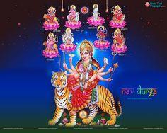 Nav Durga Wallpaper Free Download