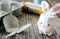 CantaEduca: Animales con cartón de huevo - Manualidades