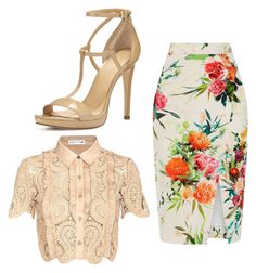 """#114"" by annavellucci on Polyvore featuring moda, Oasis, self-portrait e MICHAEL Michael Kors"