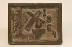 Class of 1964 bronze time capsule cover
