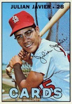 226 Julian Javier 1967 Topps St Louis Baseball, St Louis Cardinals Baseball, Stl Cardinals, Major League Baseball Teams, Baseball Players, American League, Baseball Games, National Football League, Mlb