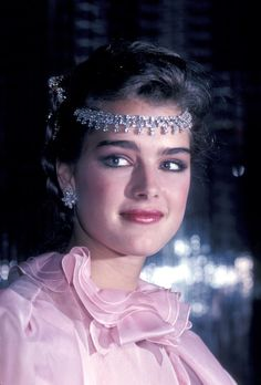 Brooke Shields, 1981 At the Wella Luncheon.  GETTY