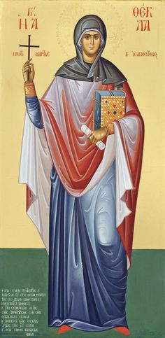 24/9. Saint Thekla, the equal to Apostles.