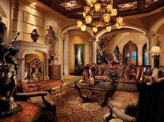 Opulent 33,000 Square Foot Oceanfront Mega Mansion In North Palm Beach, FL Chris Cline 12510 Seminole Beach Road in North Palm Beach, FL.