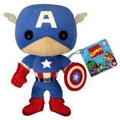 Captain America plush doll