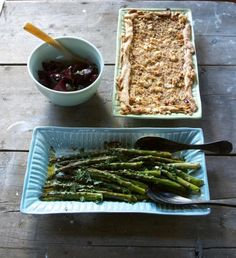 Love the dish with the beans - one day I will have beautiful crockery - Frances Palmer in Connecticut | Remodelista