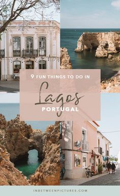9 Fun Things To Do in Lagos Portugal and everything you need to know before your visit including: where to eat in Lagos, where to stay in Lagos, and what to do in Lagos. #Portugal #Europe