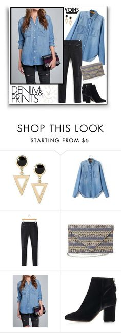 """Yoins"" by water-polo ❤ liked on Polyvore featuring Topshop, polyvoreeditorial and yoins"