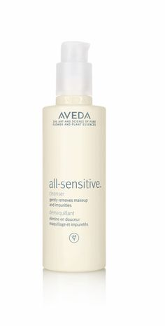 Aveda - All Sensitive Cleanser.  Leaves your skin feeling clean, but not over cleansed.
