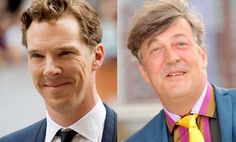 Stephen Fry gave schoolboy Benedict Cumberbatch 2nd place in an acting competition.
