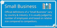 The advantages of being a small business are often overlooked because the precarious nature of competing against larger companies. Business Definition, Marketing Definition, Small Company, Online Advertising, Definitions, Larger, Digital Marketing, Competition, Nature