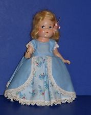 RARE 1940s Vogue Toddles Bo Peep in Original Outfit and Signed Shoe!