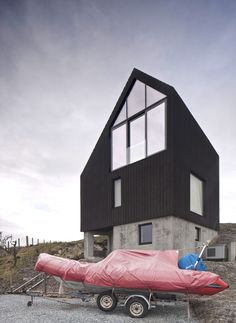 House at Camusdarach Sands,Courtesy of Raw Architecture Workshop