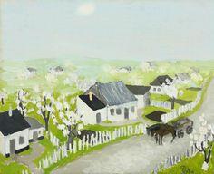 Art and Salt Post Impressionism, Art Database, Day Wishes, Spring Time, Flower Art, Landscape, Flowers, Romania, Salt