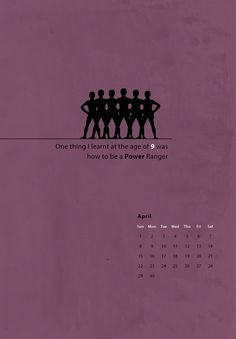 Calendar Project 2011 by Thomas Sanalitro, via Behance