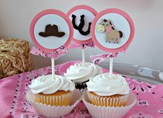 cowgirl western birthday party | Cowgirl Western Rodeo Ranch Birthday Party by ... | Theme :: Pink Cow ...