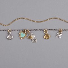 Sophie Harley Necklace   Beach charms