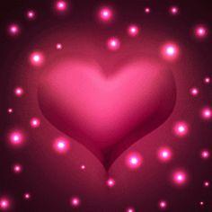 corazón brillos gif