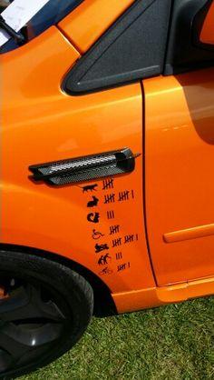 Orange Focus ST