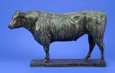 Tuaillon, Louis 1862 Berlin - 1919 Berlin Stier. Bronze. Signiert u. datiert 1903. Gießerstempel: — Skulpturen, Möbel, Kunsthandwerk