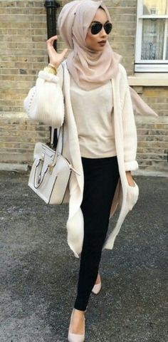 63 ideas for fashion hijab style classy Islamic Fashion, Muslim Fashion, Modest Fashion, Trendy Fashion, Fashion Outfits, Fashion Trends, Classy Fashion, Style Fashion, Hijab Outfit
