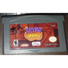 Nintendo Game Boy Advance Spyro Orange Cortex Conspiracy Cartridge AGB-BSTE-USA CAN$7.00 + Shipping