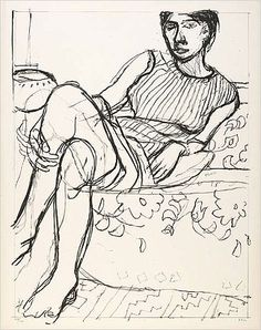 View Seated Woman in Striped Dress, from Seated Woman Series by Richard Diebenkorn on artnet. Browse upcoming and past auction lots by Richard Diebenkorn. Richard Diebenkorn, Figure Painting, Figure Drawing, Painting & Drawing, Life Drawing, Drawing Sketches, Art Drawings, Bay Area Figurative Movement, Tinta China
