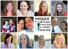 Marriage between a man and a woman blog hop. These fabulous bloggers are talking about our marriages, giving tips, and sharing what we've learned but most importantly we're defending traditional marriage between a man and a woman.
