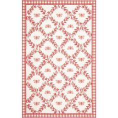 Safavieh Chelsea Lara Hand Hooked Wool Area Rug, White