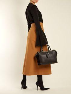 Loewe Zipper leather bag
