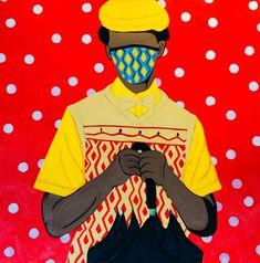Shakes Tembani: The Gentleman: fine art | StateoftheART African Art, Gentleman, Contemporary Art, Fine Art, Painting, Gentleman Style, Painting Art, Paintings, Visual Arts