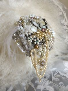Design by DJ Bouquets... ♥ 'The Gatsby' Bouquet