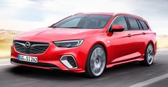 New Opel Insignia GSi Sports Tourer Breaks Cover With 207HP Diesel Engine #Frankfurt_Motor_Show #New_Cars