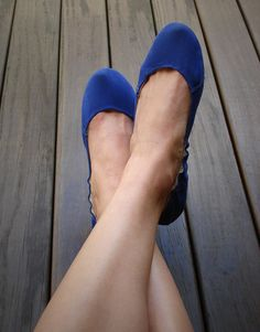 Sapatilha Castanna Sarja Azul Klein