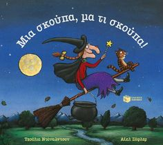 Room on the Broom: Julia Donaldson, Axel Scheffler: Perfect non scary Halloween story for toddlers/preschoolers Mighty Girl Books, Julia Donaldson Books, Halloween Books For Kids, Axel Scheffler, Room On The Broom, The Gruffalo, Album Jeunesse, Film D'animation, Halloween Haunted Houses