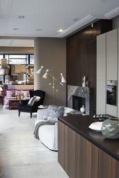 Interior of showroom MOOD, Warsaw Mood, Poliform, Varenna, Flexform, Gervasoni, Antonio Lupi, Catellani&Smith, Delightfull, Etro Home