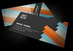 Business Card Design Inspiration.