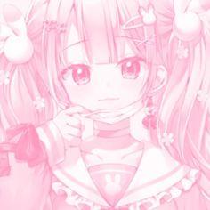 Kawaii Chibi, Kawaii Art, Kawaii Anime Girl, Anime Girl Pink, Anime Art Girl, Pink Aesthetic, Aesthetic Anime, Backgrounds Girly, Foto Gif