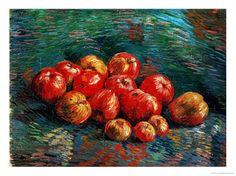 Apples, Vincent Van Gogh.