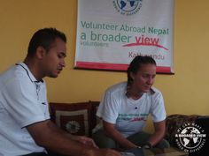 Volunteer Nepal Kathmandu Judith Seebohm Arrival day and orientation medical program. Nepal Health program because I'm a traveling RN and that's the best skill set I possess. I want to make a difference somewhere that I can do hands-on work with patients.  https://www.abroaderview.org/volunteers/nepal