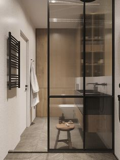 Home Decoration Ideas Interior Design .Home Decoration Ideas Interior Design Partition Design, Glass Partition, Door Design, House Design, Reeded Glass, Appartement Design, Minimalist Furniture, Bathroom Interior Design, Bathroom Inspiration