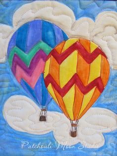 Patchouli Moon Studio~Hot Air Balloon Quilts