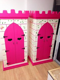 Princess Castle Themed Wardrobes