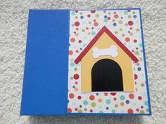 6x6 Premade Dog Scrapbook Album