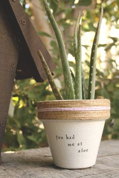 Jerry Maguire You Had Me At Aloe by PlantPuns on Etsy