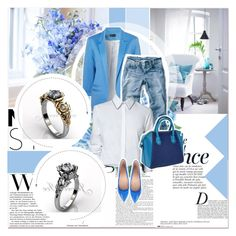 """""""Jewelice"""" by jewelice ❤ liked on Polyvore featuring Anja, women's clothing, women's fashion, women, female, woman, misses and juniors"""